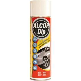 Alcor Dip snímatelná tekutá fólie ve spreji Bílý - mat 500 ml
