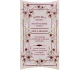 Bohemia Gifts Wine Spa Lilie a hrozno Vinná kosmetika s glycerinem a extrakty z hroznů vinné révy ručně vyrobené toaletní mýdlo v papírové krabičce 100 g