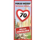 Bohemia Vše nejlepší 70 Mléčná čokoláda dárková 100 g