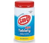 Savo Mini Chlorové tablety do bazénu - dezinfekce 900 g