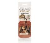 Yankee Candle Leather - Kůže Classic vonná visačka do auta papírová