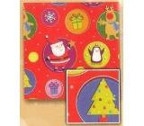 Nekupto Vánoční balicí papír Dětské motivy 2 x 0,7 m BVC 2015 18