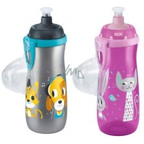 Nuk First Choice Sports Cup push-pull pítko 36+ měsíců láhev plastová 450 ml