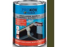 Colorlak Synorex Extra S 2003 syntetická antikorozní barva na železo a kovy Bažina 0,6 l