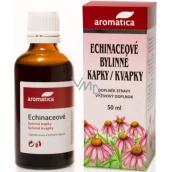 Aromatica Echinaceové bylinné kapky pro přirozenou obranyschopnost od 3 let 50 ml
