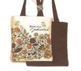 Nekupto Buď Jedinečná nákupní taška Ptáček 006 NNT