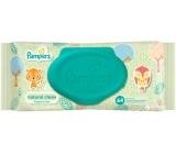 Pampers Natural Clean s heřmánkem vlhčené ubrousky pro velmi citlivou pokožku pro děti 64 kusů, neparfémované