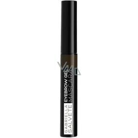 Gabriella Salvete Eyebrow gelová řasenka na obočí 03 Dark Brown 6,5 ml