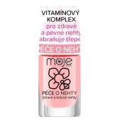 Moje Péče o nehty, pro zdravé a pevné nehty, zabraňuje třepení 04 Vitamínový komplex 6 ml