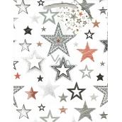 Nekupto Dárková papírová taška střední 18 x 23 x 10 cm Hvězdy 1752 02 KFM