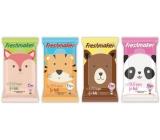 Freshmaker Kids Zvířátka vlhčené kosmetické ubrousky 15 kusů