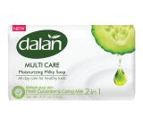 Dalan Multi Care Fresh Cucumber & Caring Milk toaletní mýdlo 90 g