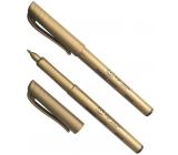 Koh-i-Noor Metalický popisovač fix 2 mm, zlatý
