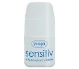 Ziaja Sensitive Creamy kuličkový antiperspirant deodorant roll-on pro ženy 60 ml