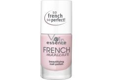 Essence French Manicure Beautifying Nail Polish lak na nehty 01 Girls Best French 10 ml