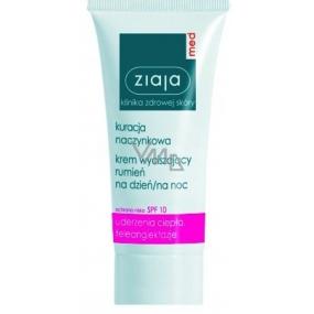 Ziaja Med Capillary Care SPF10 výživný zklidňující krém pro citlivou pleť se sklonem ke zčervenání 50 ml