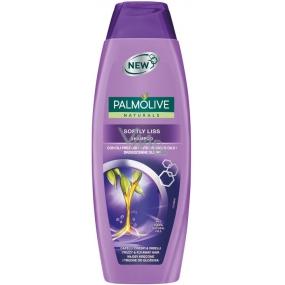 Palmolive Naturals Softly Liss šampon pro lámavé a rozcuchané vlasy 350 ml