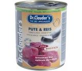 Dr. Clauders Krůta s rýží kompletní krmivo pro dospělé psy 800 g