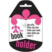 If Little Book Holder Držák na knihu Růžový 75 x 2,5 x 75 mm
