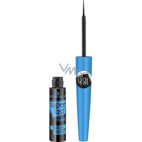 Essence Superlast voděodolné oční linky Black 3,5 ml