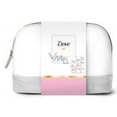 Dove Glowing Ritual sprchový gel pro ženy 250 ml + tělové mléko 250 ml + Powder Sof deodorant sprej 150 ml + etue, kosmetická sada