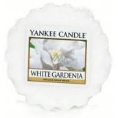 Yankee Candle White Gardenia - Bílá gardénie vonný vosk do aromalampy 22 g