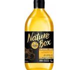 Nature Box Makadamia sprchový gel se 100% za studena lisovaným olejem, vhodné pro vegany pro jemnou pokožku 385 ml