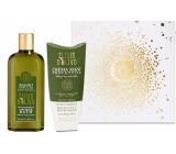 Erbario Toscano Olivový olej sprchový gel 250 ml + krém na ruce 100 ml, luxusní kosmetická sada
