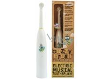 Jack N Jill BIO Buzzy Brush extra soft elektrický zubní kartáček s melodií pro děti od 3 let