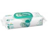 Pampers Pure Aqua vlhčené ubrousky z bio bavlny, bez alkoholu a parfemace pro děti 48 kusů