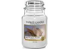 Yankee Candle Autumn Pearl - Podzimní perla vonná svíčka Classic velká sklo 623 g