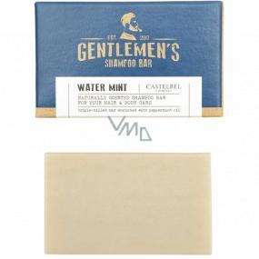 Castelbel Gentlemens Vodní máta 2v1 tuhý šampon na vlasy a tělo pro muže 35 g