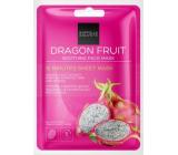 Gabriella Salvete 15 Minutes Sheet Mask Dragon Fruit zklidňující textilní pleťová maska 1 kus