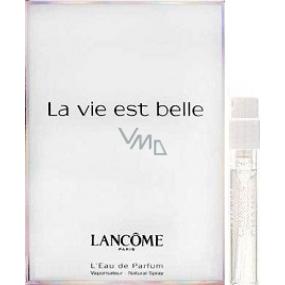Lancome La Vie Est Belle parfémovaná voda pro ženy 1,5 ml s rozprašovačem, vialka