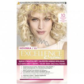 Loreal Paris Excellence Creme barva na vlasy 10 Nejsvětlejší blond