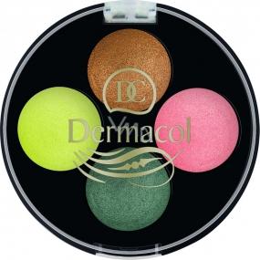 Dermacol Quattro Baked Eye Shadows oční stíny 07 5 g