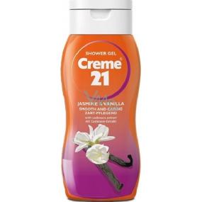 Creme 21 Jasmine & Vanilla sprchový gel 75 ml