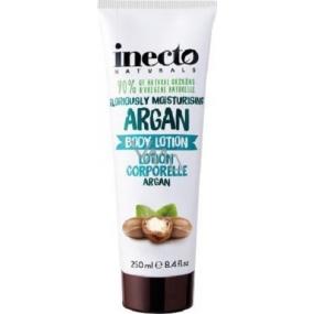 Inecto Naturals Argan tělové mléko s čistým arganovým olejem 250 ml