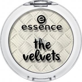 Essence The Velvets Eyeshadow oční stíny 01 Fluffy Clouds 3 g