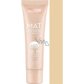 Astor Mattitude Foundation Anti Shine 16h Shine Control make-up 200 Nude 30 ml