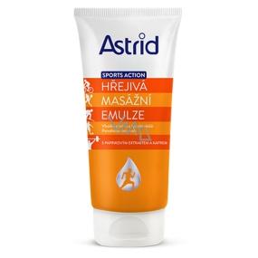Astrid Sport Action Hřejivá masážní emulze 200 ml