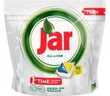 Jar All in One Lemon kapsle do myčky nádobí 96 kusů