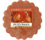 Yankee Candle Spiced Orange - Pomeranč se špetkou koření vonný vosk do aromalampy 22 g