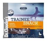 Dr. Clauders Trainee Snack Kachní sušené kostičky maso doplňkové krmivo 100% masa pro psy 5 x 100 g