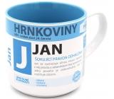 Nekupto Hrnkoviny Hrnek se jménem Jan 0,4 litru