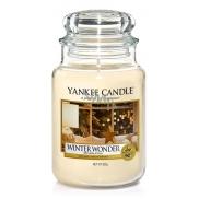 Yankee Candle Winter Wonder - Zimní zázrak vonná svíčka Classic velká sklo 623 g