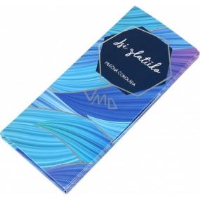 Albi Dárková mléčná čokoláda Jsi zlatíčko 50 g 14 x 6 cm