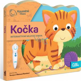 Albi Kouzelné čtení interaktivní minikniha s výsekem Kočka, věk 2+