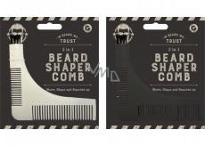 By My Beard Beard Shaper Comb hřeben na vousy 3v1