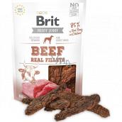 Brit Jerky Sušené masové pamlsky s hovězím a kuřetem pro dospělé psy 80 g